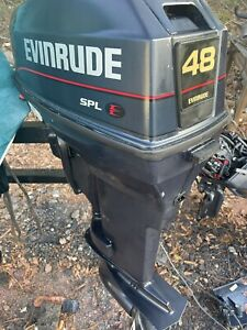 1996 evinrude 48 hp SPL outboard (ask for shipping quote)