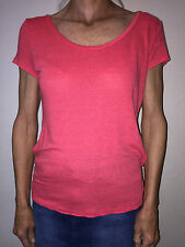 ANN TAYLOR LOFT SUN WASHED T - RED - SIZE EXTRA SMALL - SHORT SLEEVE - VERY NICE