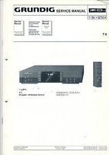 Grundig Service Anleitung Manual T 6  B551
