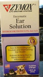 Zymox Enzymatic Ear Solution 1.25fl oz