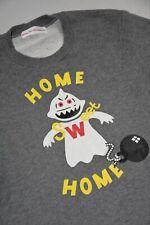 Walter Van Beirendonck Gray Home Sweet Home Printed Cotton Sweatshirt