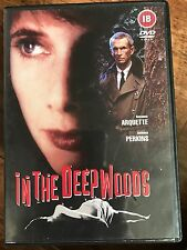 Anthony Perkins Rosanna Arquette IN THE DEEP WOODS ~ 1992 Horror Thriller UK DVD