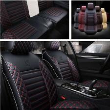 5D Luxury High Quality Wear-resistant PU Leather Car Cushion Seat Covers 5-Seats
