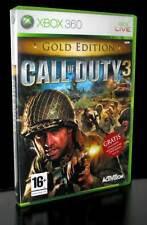 LOTTO STOCK 2 GIOCHI  CALL OF DUTY 3 STRANGLEHOLD XBOX 360 USATI ITA STOCK23