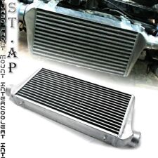 "Diy Custom 31""X11.5""X3"" Fmic Tube And Fin Front Mount Turbo Intercooler Chrome"