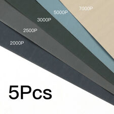 5X WET AND DRY SANDPAPER Sand Paper 2000 2500 3000 5000 7000 Mixed Grits
