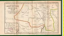 #41968 England1899. Vintage map of Shan States [China]. Royal Geog.Society