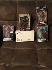 Marvel Legends Deadpool, with Snake Eyes, Hand Ninja, & Red Ninja Lot