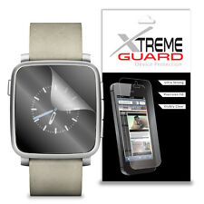 Genuine XtremeGuard LCD Screen Protector Cover For Pebble Time Steel Smartwatch