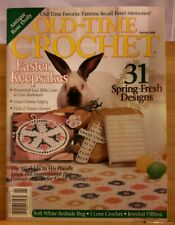APR036 OLD TIME CROCHET MAGAZINE, SPRING 1999