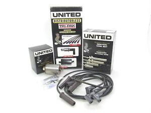 NEW United Tune-Up Kit Spark Plug Wires PCV Fuel Filter 3-7412 GM 2.0 2.2 87-90