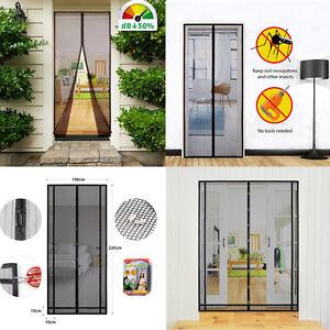Magnet Fliegengitter für Türen Insektenschutz Türvorhang Moskitonetz in 9 Größen