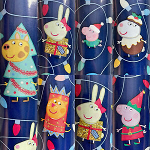 1 Roll Peppa Pig Family All Wrapped Up Christmas Wrapping Paper 70 sq ft