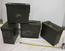 FOUR QTY - Tall 50 cal Ammo Cans!! MADE IN USA  Free Shipping to the 48-States !