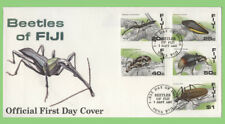 More details for fiji 1987 beetles set first day cover