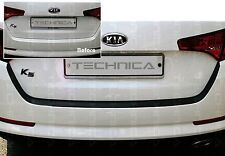 Rear Bumper Protecter Decal Matt Black Chrome Logo For KIA 2011-2015 Optima K5