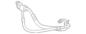 Genuine GM Compressor & Condenser Hose 23264898