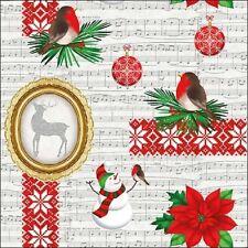 5  x   Paper Napkins for Decoupage Xmas Items Napkin Art