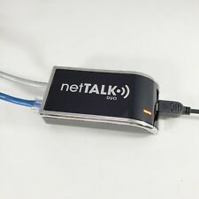 Nettalk Duo VOIP Phone Adapter with AC Adapter And Cables