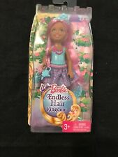 Barbie Endless Hair Kingdom Chelsea Doll Blue New Sealed Toy