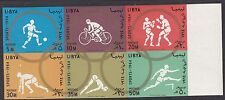 OLYMPICS : 1964 LIBYA Olympics Games set  IMPERF SG 321-6 never-hinged mint
