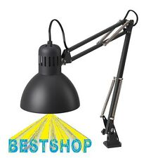~~IKEA TERTIAL DARK GREY DESK WORK LAMP ARM AND HEAD ARE ADJUSTABLE~~
