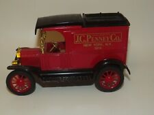 Ertl Diecast 1913 Ford Model T Truck JC PENNEY Department Stores NEW YORK NY Red