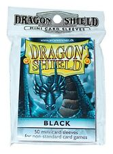 Yu-Gi-Oh! - DRAGON SHIELD Proteggi carte mini pacchetto da 50 bustine black