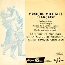 BATTERIE ET MUSIQUE DE LA GARDE REPUBLICAINE FR Press Columbia ESBF 107 EP