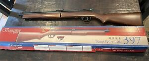 Vintage Benjamin Pump Pellet Rifle 397 Gun with Box