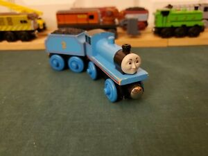Thomas Wooden Railway Learning Curve 2001 Old Style Edward the Blue Engine GUC