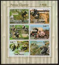 G. Bissau 2011 Sheetlet panda gigante estampillada sin montar o nunca montada