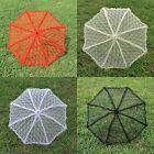 4 Colors Gothic Victorian Lace Parasol Umbrella Lolita Wedding Bridesmaid