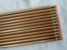 """24 Hexagon """"Gold"""" Personalized Pencils"""