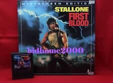 【電影LD】Rambo‧First Blood 第一滴血 (Stallone 史泰龍主演) 美版碟‧連字匣