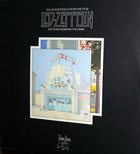 LED ZEPPELIN THE SONG REMAINS THE SAME 2 LP  LIVE MADE IN US 1976 +BOOK