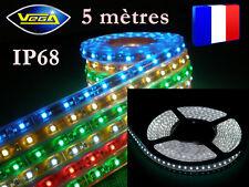 Rouleau 5 mètres 300 LEDS 5050 SMD Jaune recoupable étanche IP68 totale 12V