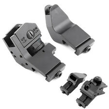 Tactical 45 Degree Offset Fixed Backup Iron Front Rear Rapid Transition Sights