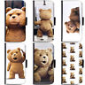 Movie Ted Collection Phone Wallet Flip Case Cover for HTC Nokia Oppo Xiaomi