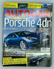 Autocar Magazine 4 April 2007 Porsche 4dr Panamera BMW 3-series CC