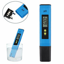 Medidor de pH digital LCD Tester Hydroponics Aquarium Water Pocket Test Pen