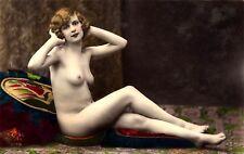 A4 Vintage 1920's Art Deco Pretty Nude Girls ..Victorian/Edwardian Beauties 227