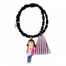 Girl and Pink Tassel Pompom Women Girl Elastic Hair Band Wrap Accessories HA269