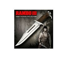 Hollywood Collectibles HCG Rambo III Part 3 Stallone Standard Ed Knife Sealed