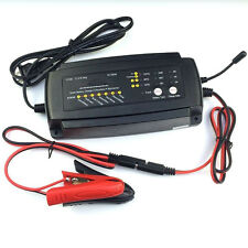 12V 2/4/8A 7-Stage Battery Smart Car Motor Battery Charger Maintainer Charging