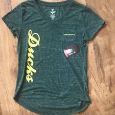 New University of Oregon Ducks T-Shirt Size Women's Medium Fanatics Green NWT