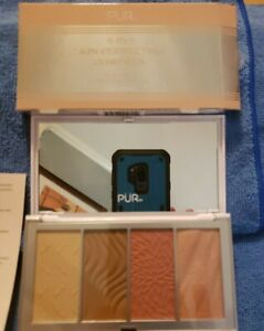 PUR 4-in-1 Skin Perfecting Powders Face Palette Fair/Light New in Box