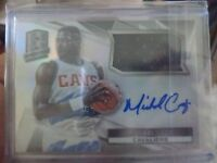 2014 - 15 PANINI SPECTRA MICHAEL CAGE CARD # 13  035/125  JERSEY AUTO