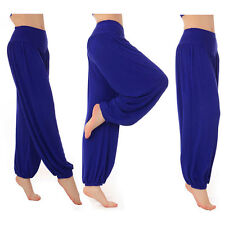 Women Harem Pants Cotton Baggy Yoga Dance Indian Aladdin Loose Casual Trousers