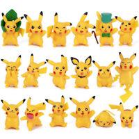 18PCS/Set Pikachu Mini Figure Cute Toy PVC Model Doll Kid Christmas Gift 3~5 CM
